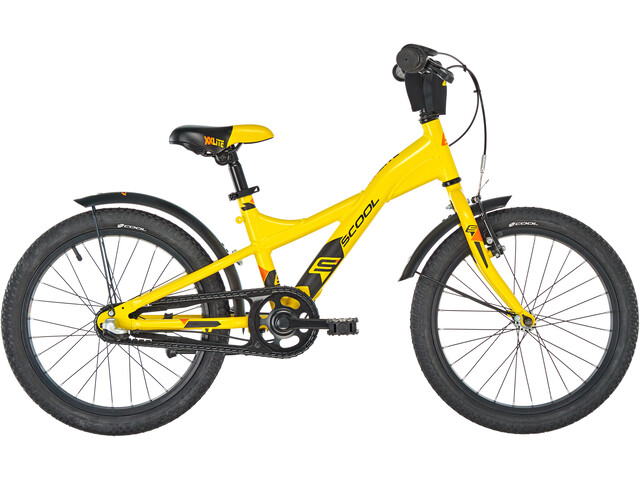 s'cool XXlite 18 3-S legering Børn, yellow/black matt